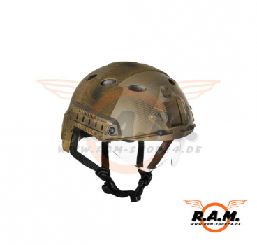 FAST Helmet PJ Type Goggle Version Eco Subdued