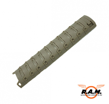 MILSIG Rail Cover (Plastic), Desert Tan, 4er Set