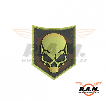SOF Skull Rubber Patch ACU (JTG)
