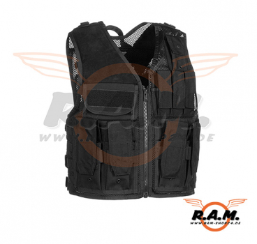 Mission Vest Black (Invader Gear)