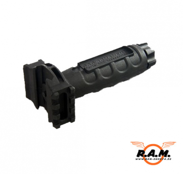 Railed Forward Grip Black (G&G)