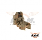 Rhino Rear Sight Dark Earth (APS)