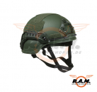 ACH MICH 2000 Helmet Special Action Version OD