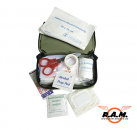 Verbandsmaterial, First Aid kit Oliv