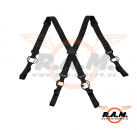 Low Drag Suspender Black (Invader Gear)