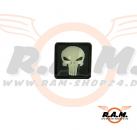 Punisher Rubber Patch Glow in the Dark