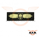SOF Skull Badge Rubber Patch Glow in the Dark (JTG)