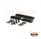 Rail Set for MOE Handguard, black