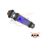 VLT LED Light blue / LED Helmlampe blau