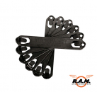 5 Inch Speed Clips 6pcs Black (Blackhawk)