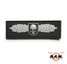 3D - SOF Skull Badge Rubber Patch (SWAT)