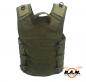 Preview: leichte Molle-Weste, Oliv, Modular System