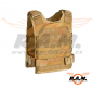 Preview: Invader Gear - Molle Armor Carrier (Brust-/Rückenpanzer) Coyote
