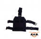"Preview: SOLIDCORE Molle Beinplatte ""SLIM LINE"", Leg Carrier, schwarz"