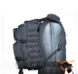 Preview: Taktischer Rucksack in Schwarz BIG-Version