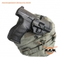 Mobile Preview: Universal Holster Molle Plattform, schwarz