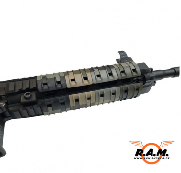 XTM Rail Panel (Magpul) PTS Division - in Camo, 16 Stück (teilbar) !