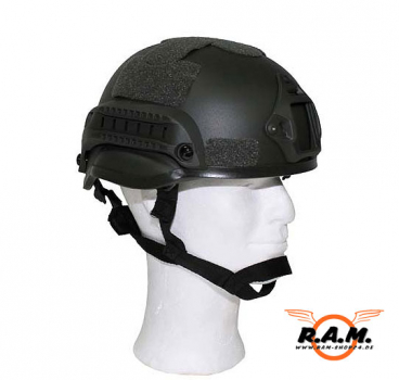 ACH MICH 2002 Helmet Special Action, oliv