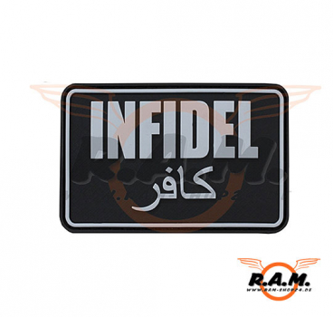 Infidel Large Rubber Patch in SWAT