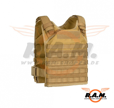 Invader Gear - Molle Armor Carrier (Brust-/Rückenpanzer) Coyote