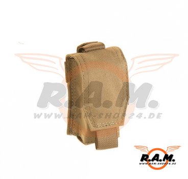Single 40mm Grenade Pouch Coyote Brown (Claw Gear)