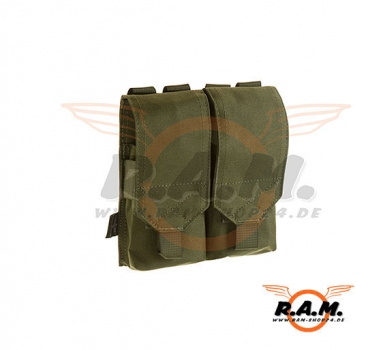 Invader Gear - 5.56 Doppelte Molle Magazintasche in Oliv