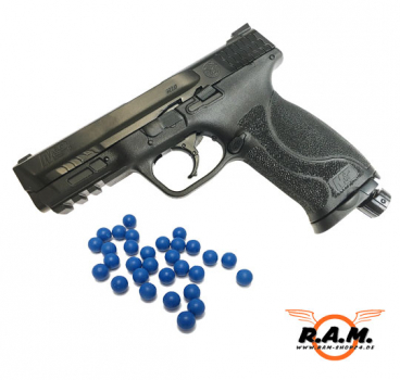 Emergency Smith & Wesson M&P9 2.0 T4E cal. .43 + Gummigeschosse (100x)