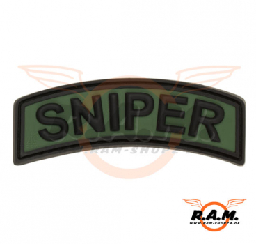 Sniper Tab Rubber Patch, Forest