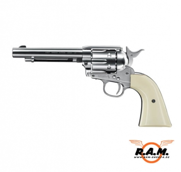 Revolver COLT SAA .45 Peacemaker cal 4.5mm Diabolo - Nickel Finish