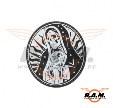 3D - Santa Muerte Rubber Patch - SWAT