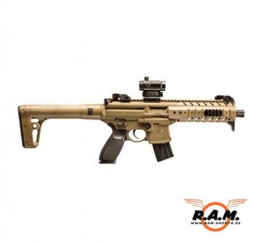 Sig Sauer MPX Dark Earth inkl. Red Dot