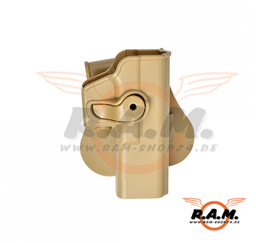 Glock 17/22/28/31 Holster Tan (IMI Defense)