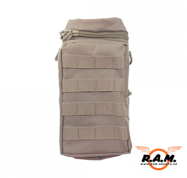BIG HP / CO2 MOLLE Flaschentasche Deluxe Coyote SOLIDCORE