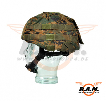 Invader Gear - Raptor Helmbezug Digital Woodland /Marpat