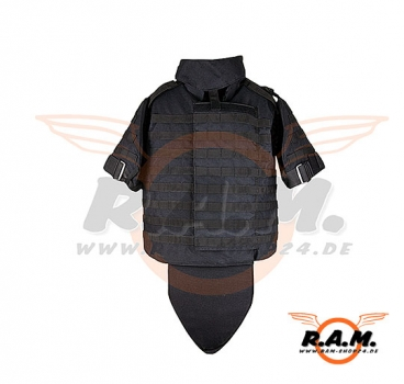 Invader Gear - Interceptor Body Armor Weste Schwarz