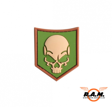 3D - SOF Skull Rubber Patch (MULTICAM)