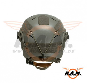 EXF Bump Helm in Foliage Green