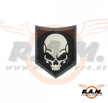 SOF Skull Rubber Patch Ghost SWAT JTG