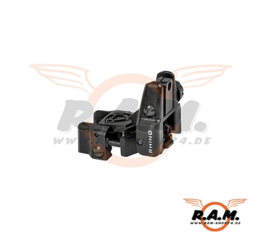 Rhino Rear Sight Black (APS)