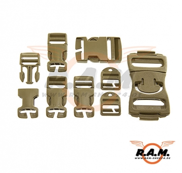 ITW  Nexus - MOLLE Field Expediant Hardware Repair Kit - Tan