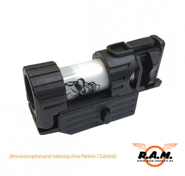 Original APS Smart Shot Mini Launcher RIS Unterbau Granatwerfer