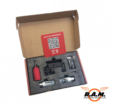 Original APS Smart Shot Mini Launcher RIS Unterbau Granatwerfer SET