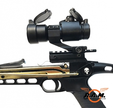 "Armbrustpistole Extreme SOLIDCORE ULTIMATE Edition ""Ready to Fire"" Set mit Red Dot & 3 Bolzen"
