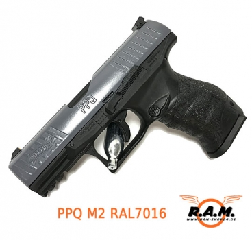 Walther PPQ M2 cal 0.43 RAL7016 grau **Limited Edition**