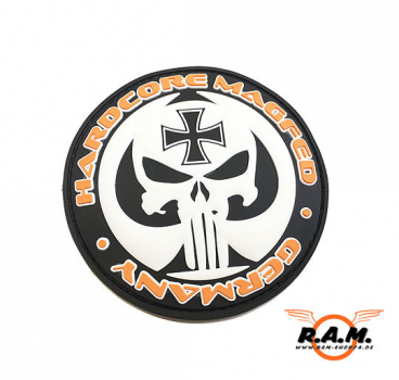 "SOLIDCORE ""HARDCORE MAGFED GERMANY"" 3D Rubber Patch"