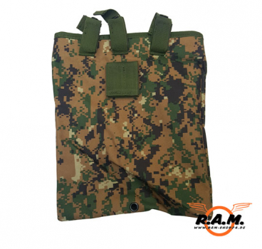 Solidcore Dump Pouch Digital Woodland