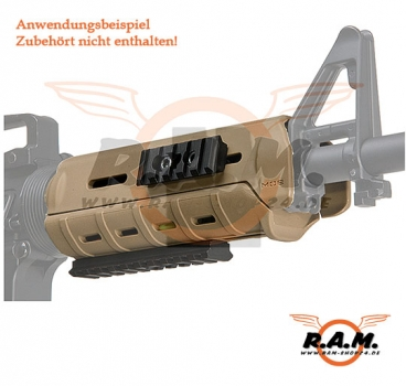 MPOE Railed Handguard Dark Earth