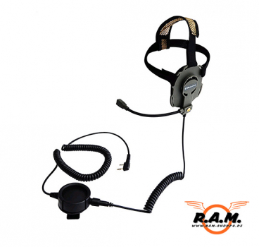 Bow-M Evo K, Tactical Military Headset mit drehbarem Mikro (L/R)