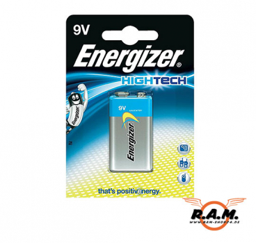 Energizer Super Premium Alkaline 6LR61 - 9V Block - High Tech