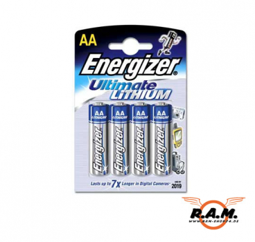 Energizer AA Mignon, Ultimate Lithium, 1,5V, 4er Pack